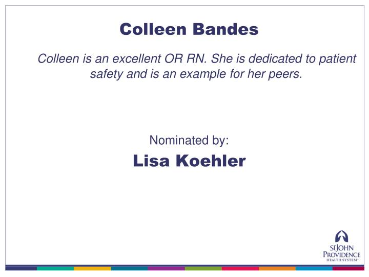 Colleen Bandes