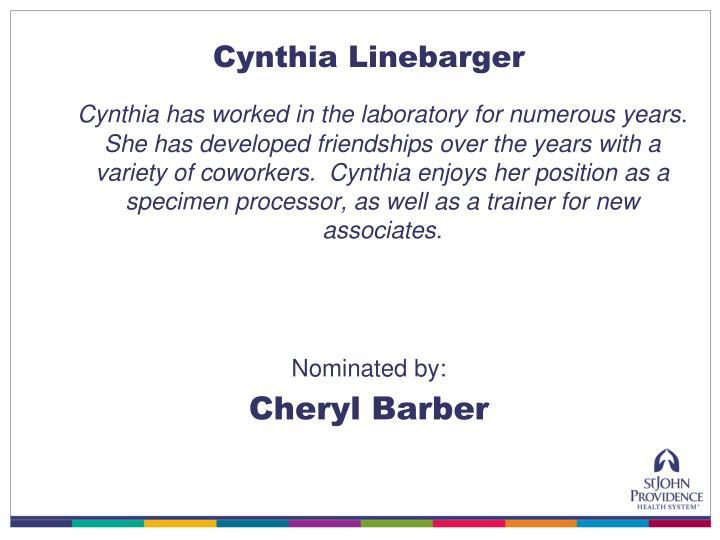 Cynthia Linebarger