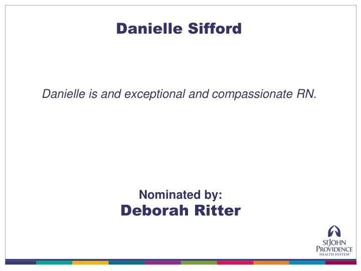 Danielle Sifford