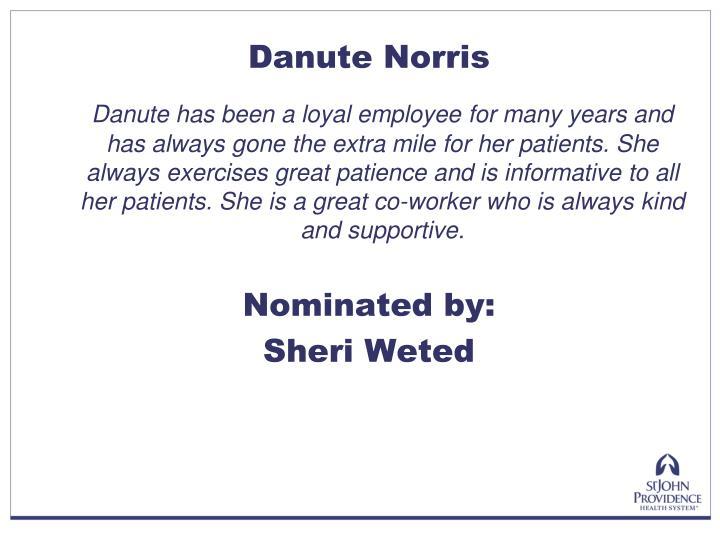 Danute Norris