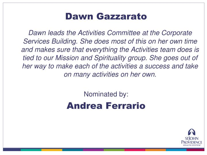 Dawn Gazzarato
