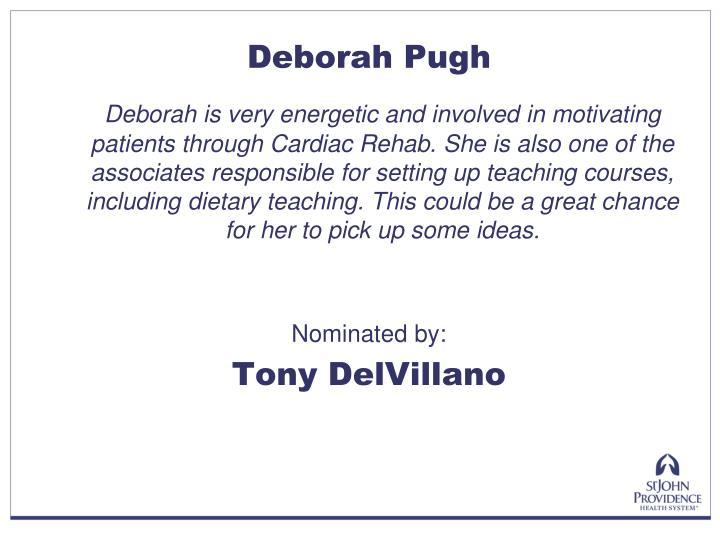 Deborah Pugh