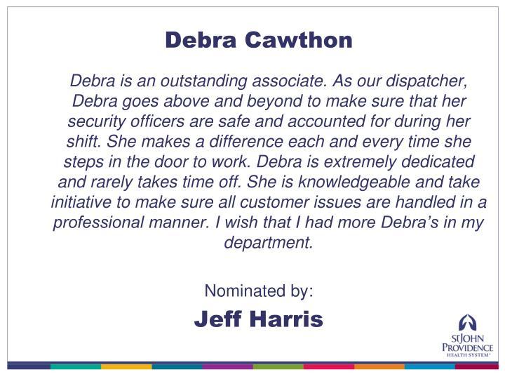 Debra Cawthon