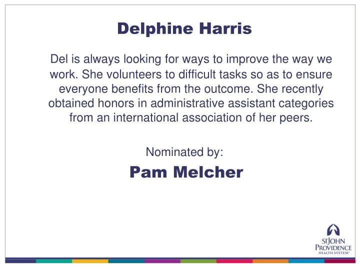 Delphine Harris