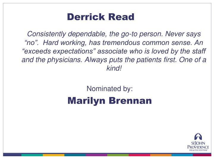 Derrick Read