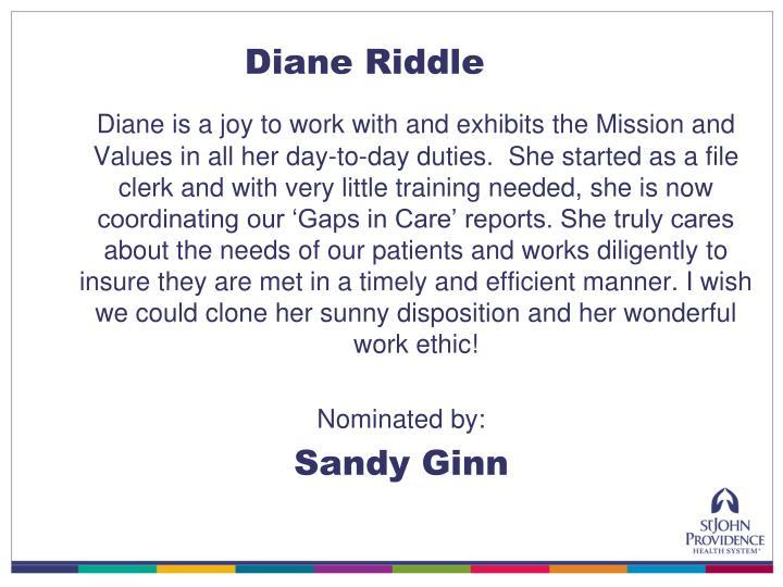 Diane Riddle
