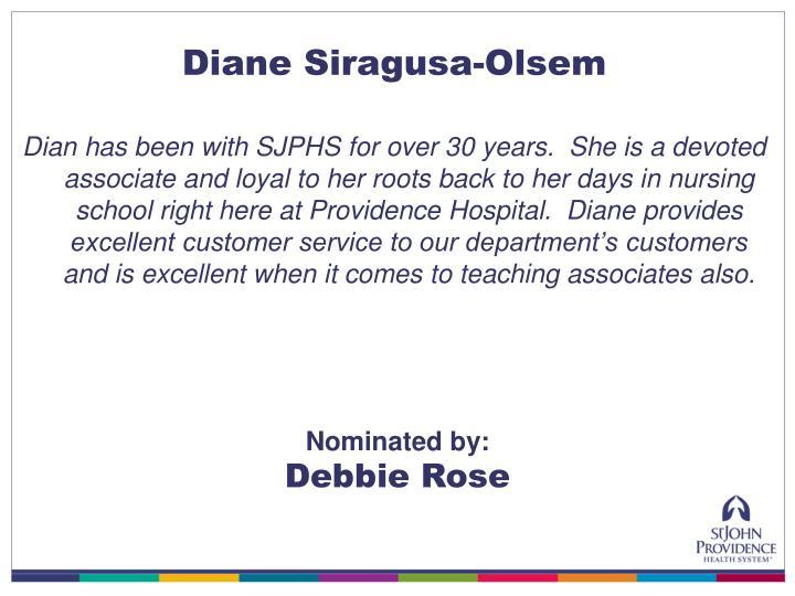 Diane Siragusa-Olsem
