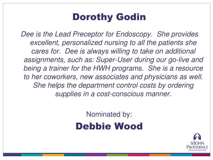 Dorothy Godin