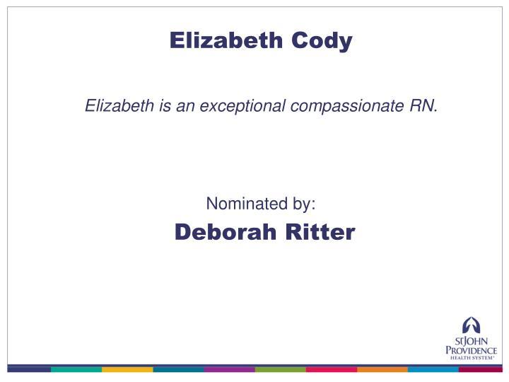 Elizabeth Cody