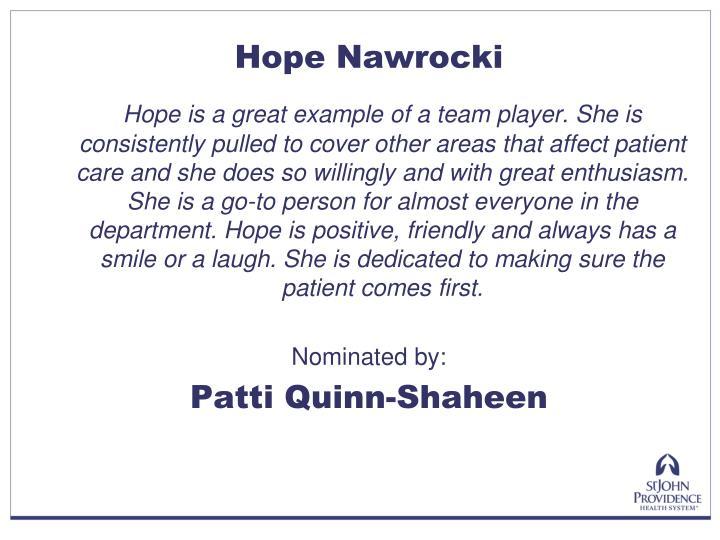 Hope Nawrocki