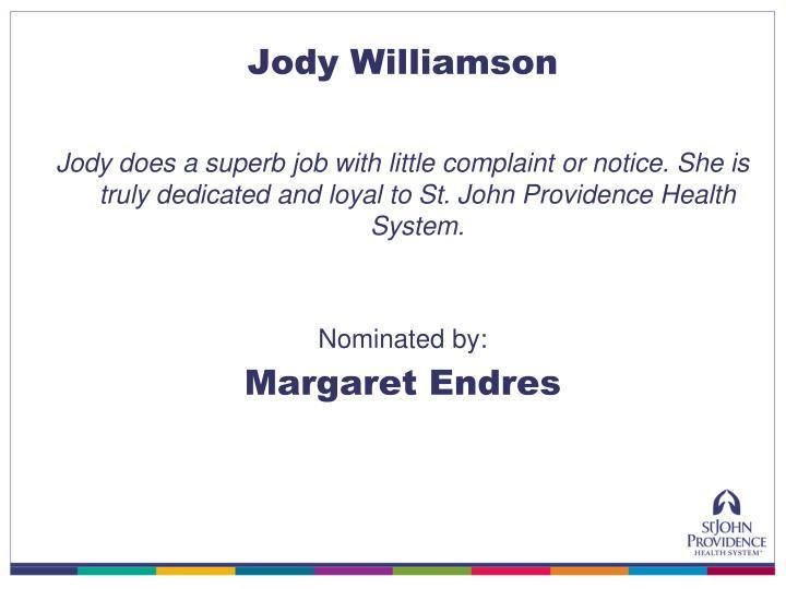 Jody Williamson