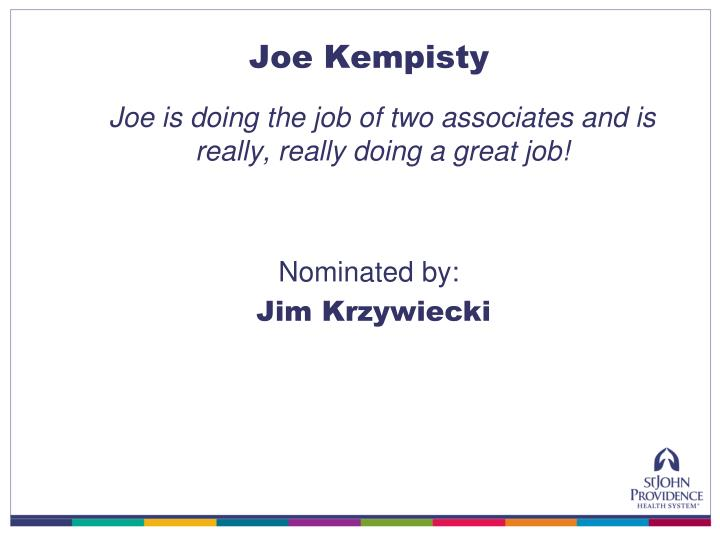 Joe Kempisty