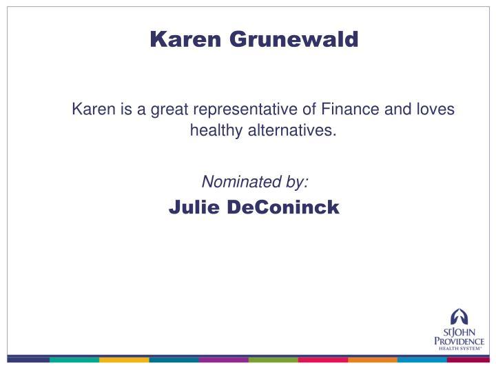 Karen Grunewald