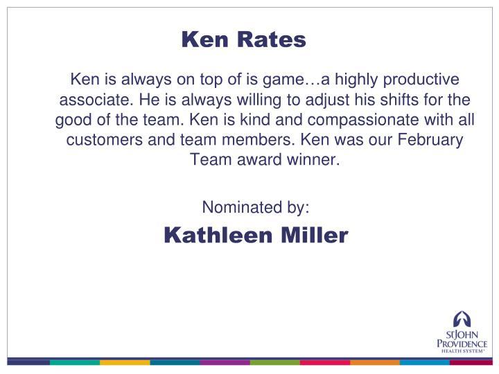 Ken Rates