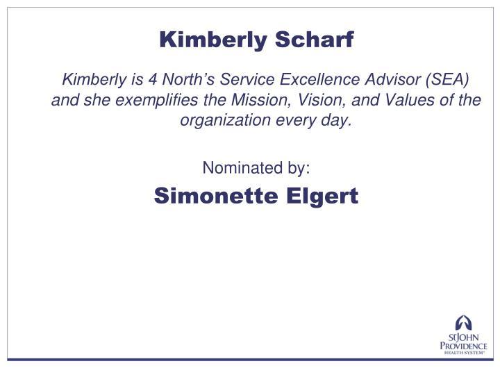 Kimberly Scharf