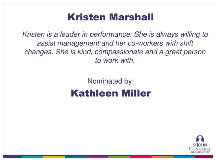 Kristen Marshall