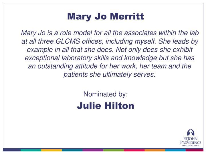 Mary Jo Merritt