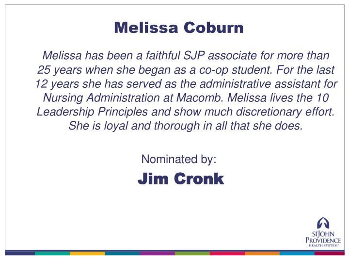 Melissa Coburn