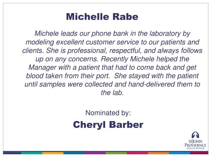 Michelle Rabe