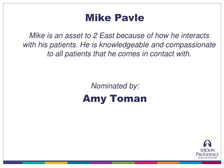 Mike Pavle