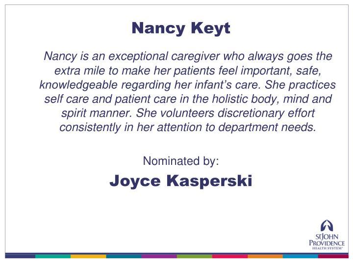 Nancy Keyt