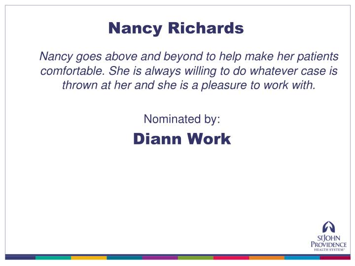Nancy Richards