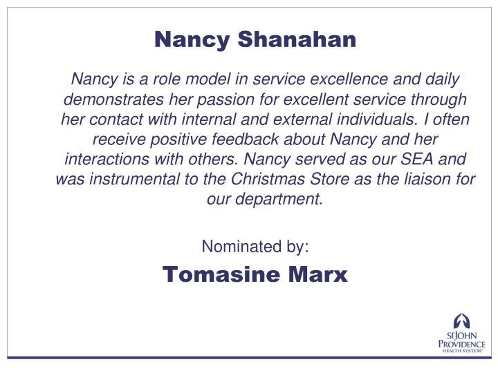 Nancy Shanahan