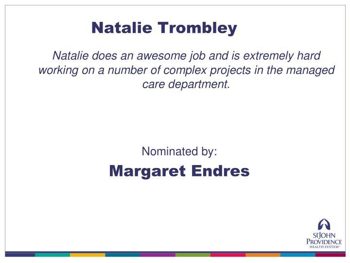 Natalie Trombley