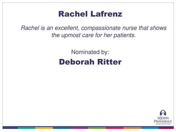 Rachel Lafrenz