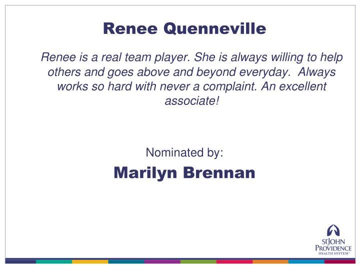 Renee Quenneville