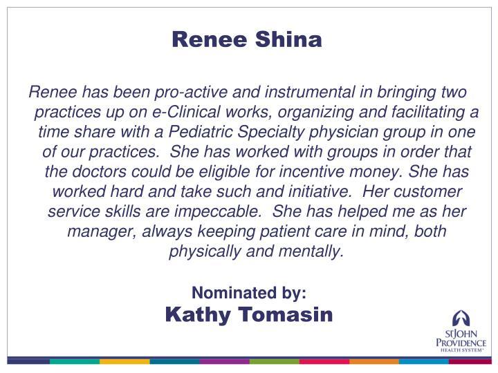 Renee Shina