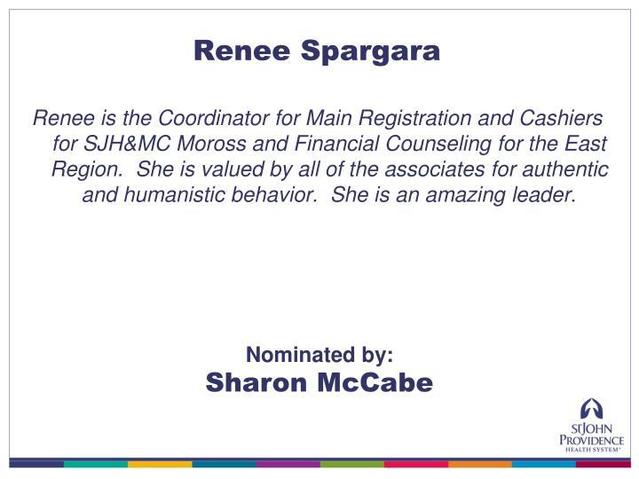 Renee Spargara