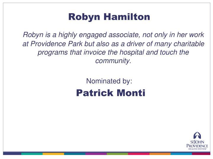 Robyn Hamilton