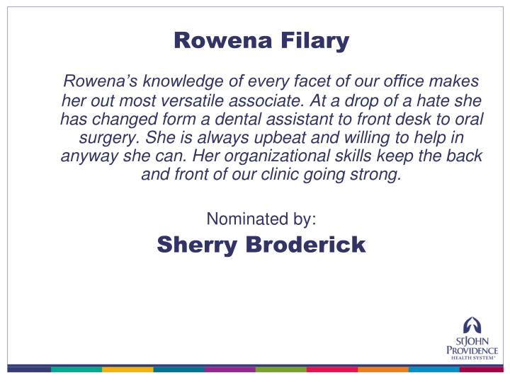 Rowena Filary
