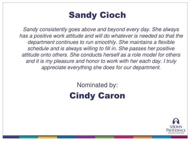 Sandy Cioch