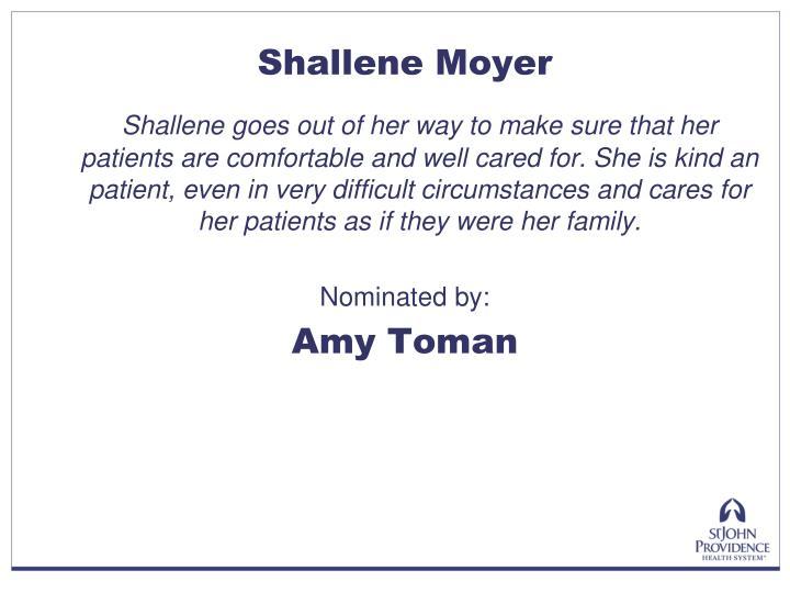 Shallene Moyer