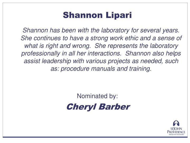 Shannon Lipari