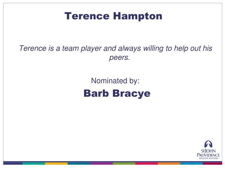 Terence Hampton