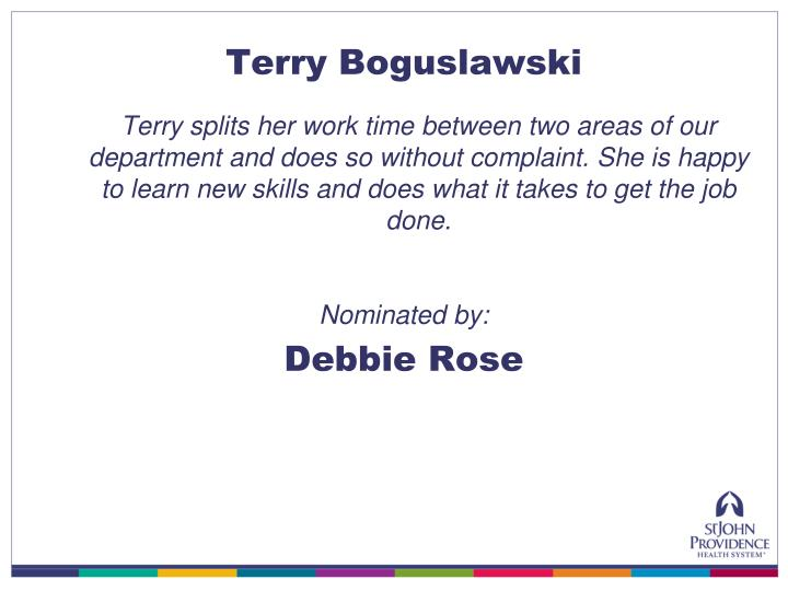Terry Boguslawski