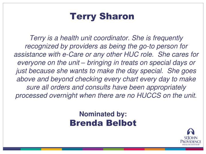 Terry Sharon