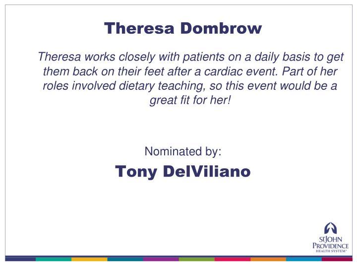 Theresa Dombrow