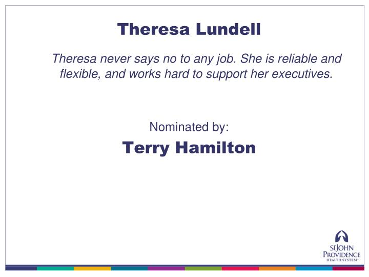 Theresa Lundell