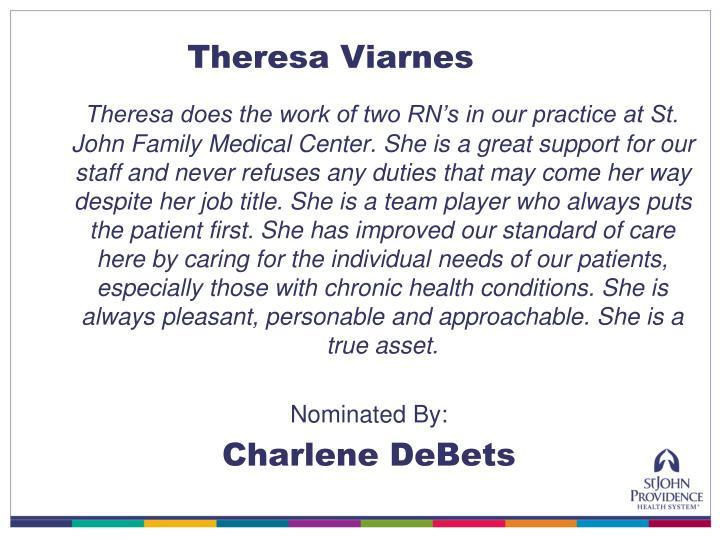 Theresa Viarnes