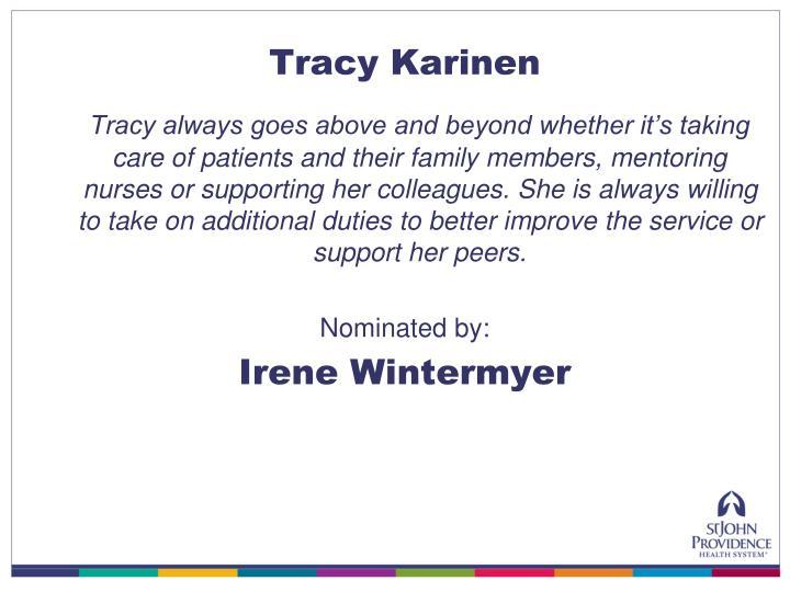 Tracy Karinen