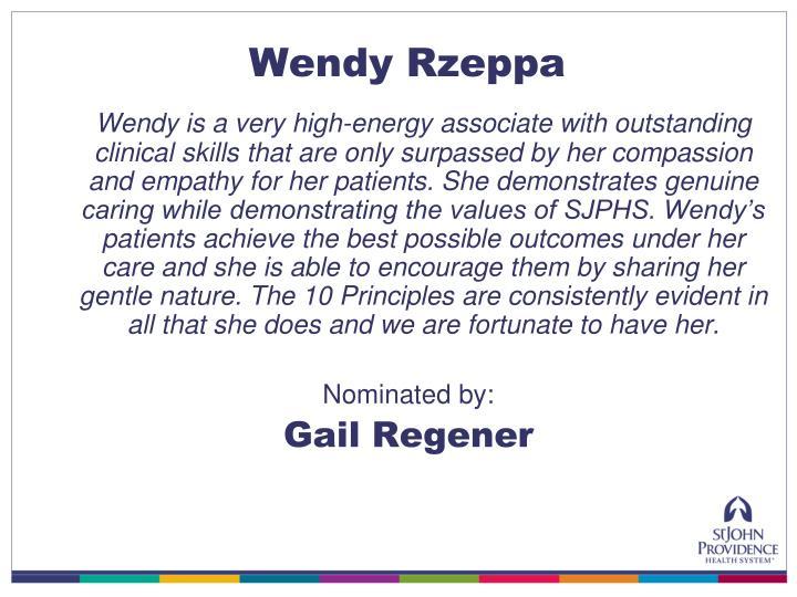 Wendy Rzeppa