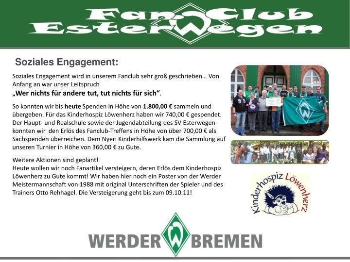 Soziales Engagement: