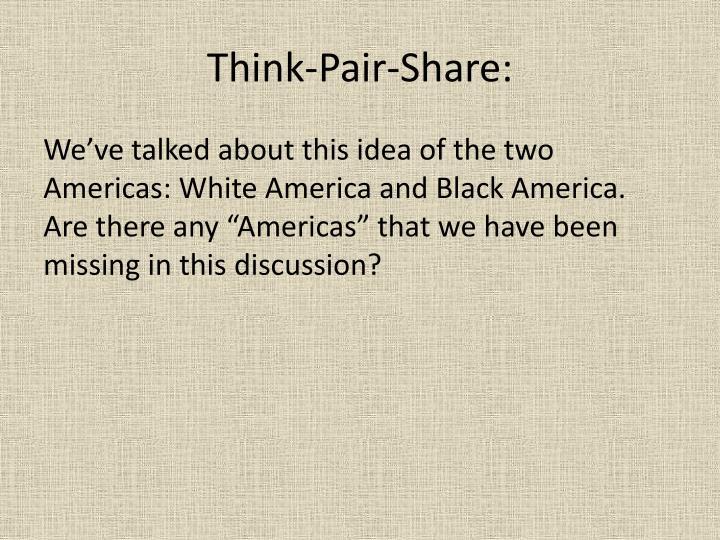 Think-Pair-