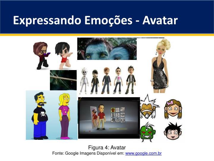 Expressando Emoções - Avatar