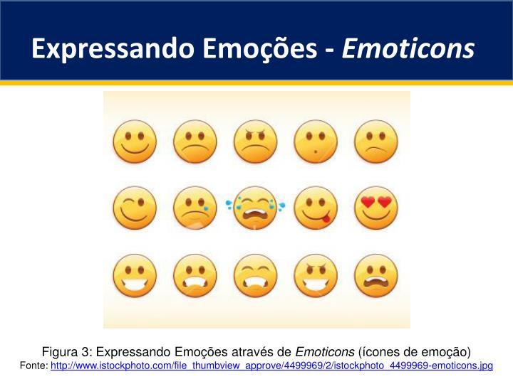 Expressando Emoções -