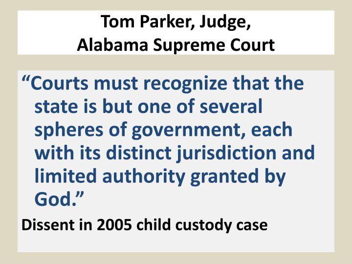 Tom Parker, Judge,